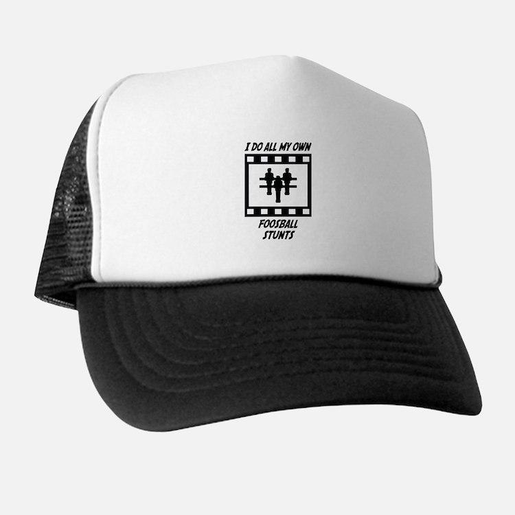 Foosball Stunts Trucker Hat