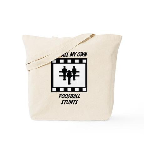 Foosball Stunts Tote Bag