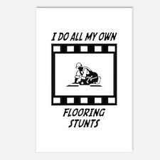Flooring Stunts Postcards (Package of 8)