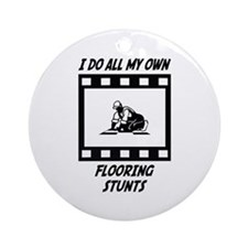 Flooring Stunts Ornament (Round)