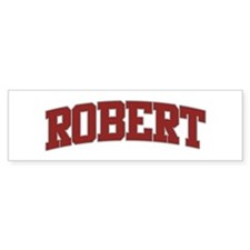 ROBERT Design Bumper Bumper Sticker