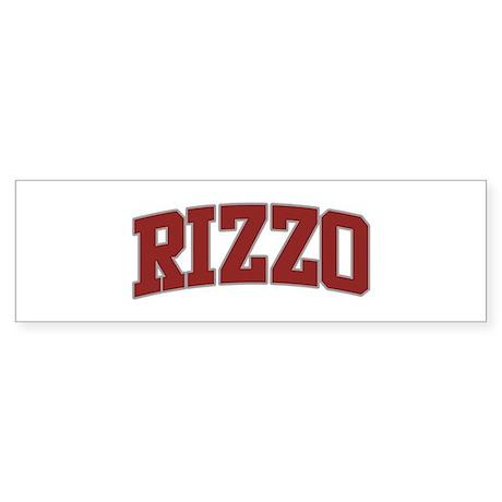 RIZZO Design Bumper Sticker