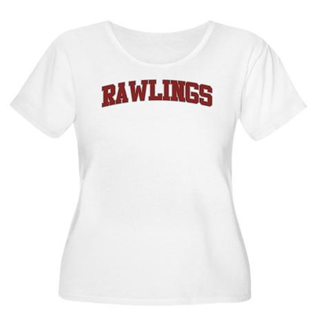 RAWLINGS Design Women's Plus Size Scoop Neck T-Shi
