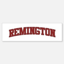 REMINGTON Design Bumper Bumper Bumper Sticker