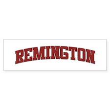 REMINGTON Design Bumper Bumper Sticker
