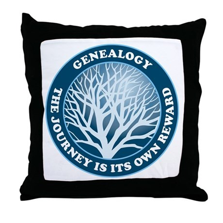 Journey Reward (Bl) Throw Pillow