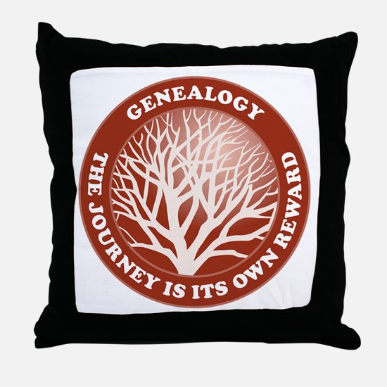 Journey Reward (Rd) Throw Pillow
