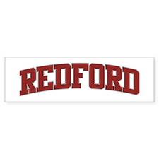 REDFORD Design Bumper Bumper Sticker
