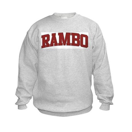RAMBO Design Kids Sweatshirt