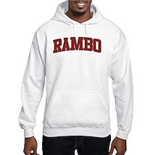 RAMBO Design Jumper Hoody