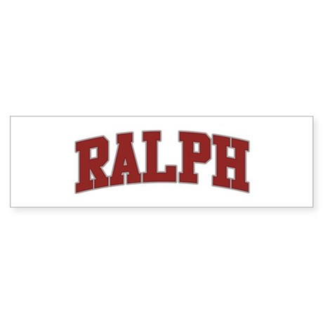 RALPH Design Bumper Sticker