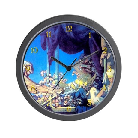 Maxfield Parrish Cleopatra Wall Clock