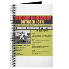 born on october 13th Journal