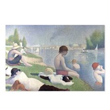 Bathers at Asnieres Postcards (Package of 8)