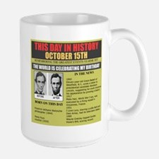born on october 15th Mug