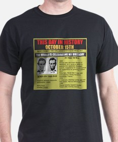 born on october 15th T-Shirt