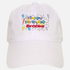 Happy Birthday Brooke Baseball Baseball Cap