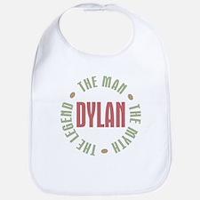 Dylan Man Myth Legend Bib