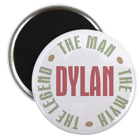 """Dylan Man Myth Legend 2.25"""" Magnet (10 pack)"""