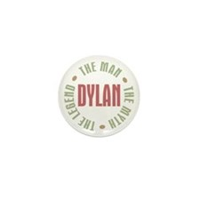 Dylan Man Myth Legend Mini Button (100 pack)