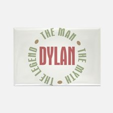 Dylan Man Myth Legend Rectangle Magnet