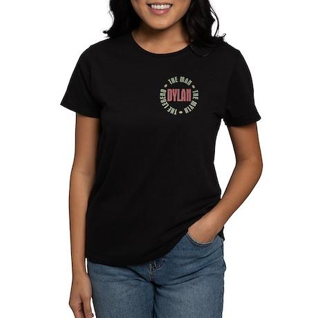 Dylan Man Myth Legend Women's Dark T-Shirt