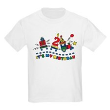 Choo Choo Second Birthday T-Shirt