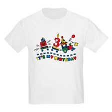 Choo Choo Third Birthday T-Shirt