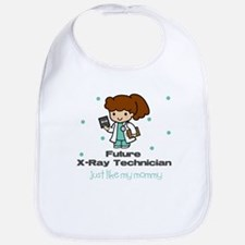 Future X-ray Tech Like Mommy Baby Infant Bib