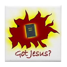 Got Jesus? Tile Coaster