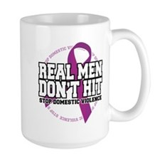 Real Men Don't Hit Mug