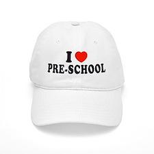 I Heart/Love Pre-School Baseball Cap
