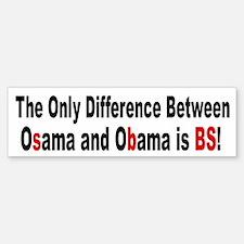 Osama OBama - BS Bumper Bumper Bumper Sticker