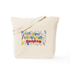 Happy Birthday Emma Tote Bag