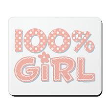 100% Girl Mousepad