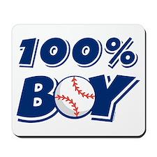 100% Boy Mousepad