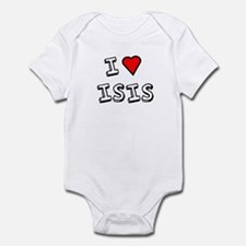 I Love Isis Infant Bodysuit