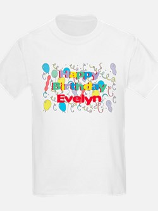 Happy Birthday Evelyn T-Shirt