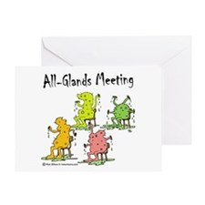 All-Glands Meeting Greeting Card