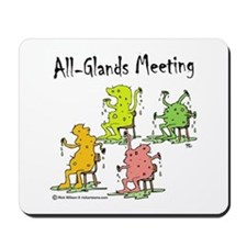 All-Glands Meeting Mousepad