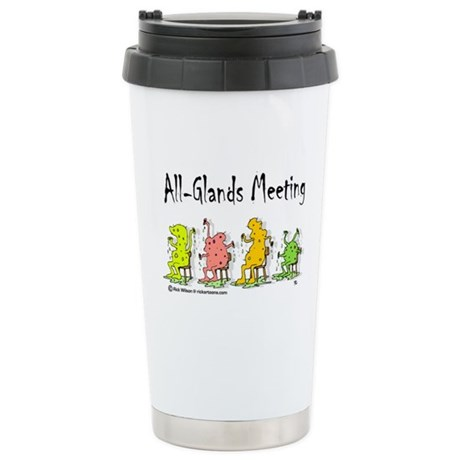 All-Glands Meeting Stainless Steel Travel Mug