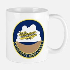 Cute Uss kitty hawk Mug