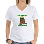 Bigfoot Women's V-Neck T-Shirt