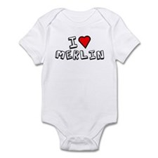 I Love Merlin Infant Bodysuit