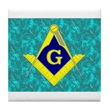 Freemasonry Tile Coaster