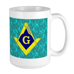Freemasonry Large Mug