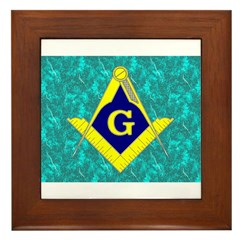 Freemasonry Framed Tile
