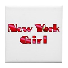 New York Girl Tile Coaster