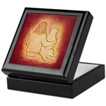 Labrador Dog & Friend Keepsake Box