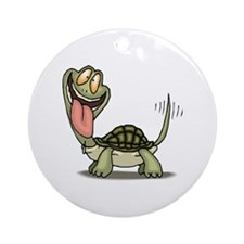 turtle, wagging, ornament